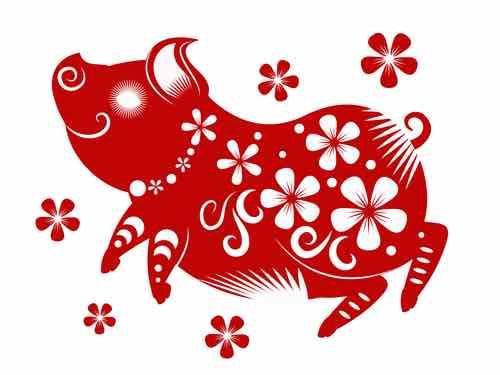 hartsverlangens in het jaar van het varken