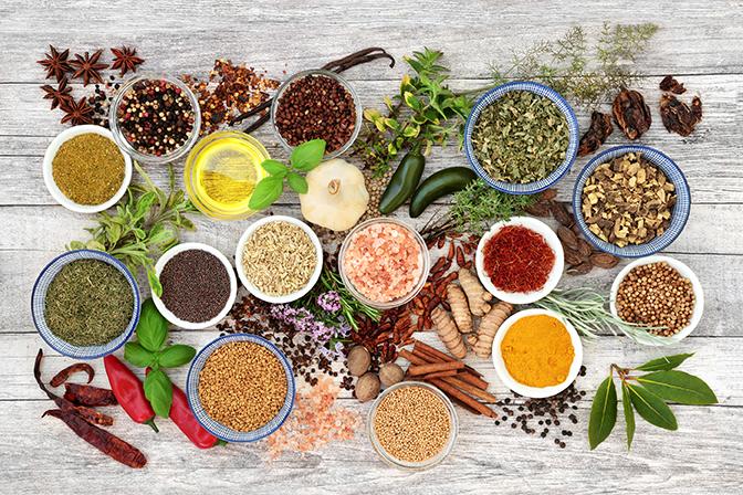 Koken met vijf elementen en vijf smaken