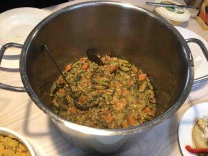 Kichadi; veganistische recept